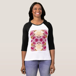 T-shirt Bella des femmes+T-shirt de raglan de douille de