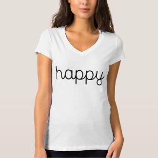 T-shirt Bella des femmes+T-shirt de V-Cou du Jersey de
