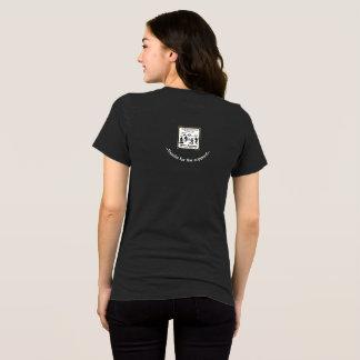 """T-shirt Bella des femmes """"traîne PAS échelles""""+Toile"""