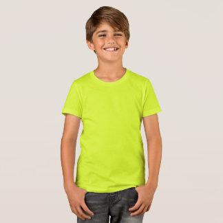 T-shirt Bella des garçons+T-shirt d'équipage de toile