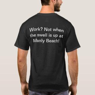 T-shirt Belle bosse à la plage virile 2017