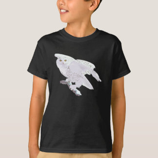 T-shirt Belle chemise de hibou de Milou
