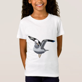 T-Shirt Belle illustration de mouette d'animation
