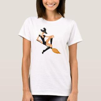 T-shirt Belle sorcière blonde