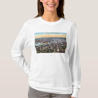 T-shirt Bellingham, Washington - antenne de ville