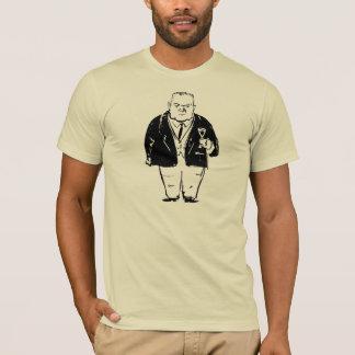 T-shirt Belloc sur la chemise de vin