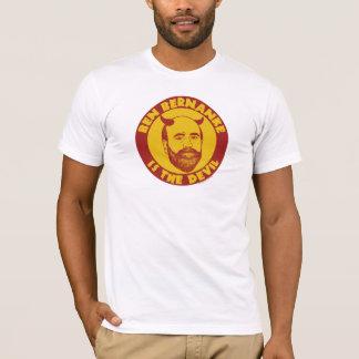 T-shirt Ben Bernanke est la chemise de diable