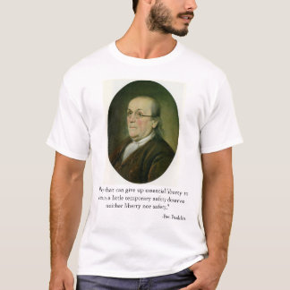 T-shirt Ben Franklin
