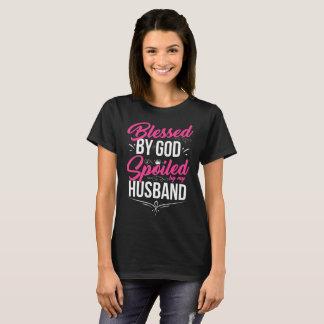 T-shirt Béni par Dieu corrompu par mon mari