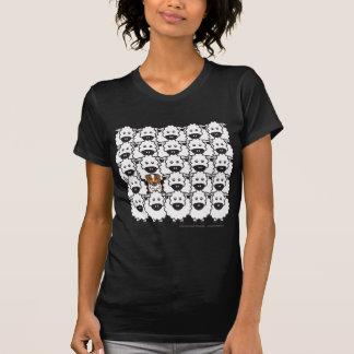 T-shirt Berger australien chez les moutons