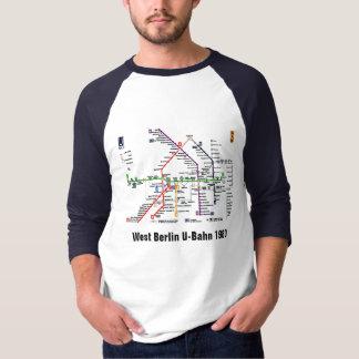 T-shirt Berlin-Ouest U-Bahn 1980