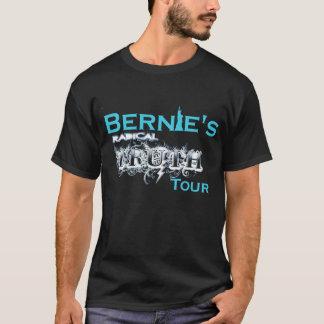 T-shirt Bernie's tour truth radical