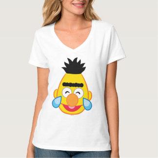 T-shirt Bert font face avec des larmes de joie