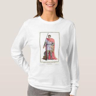 """T-shirt Bertrand du Guesclin (1320-80) de """"DES E de"""