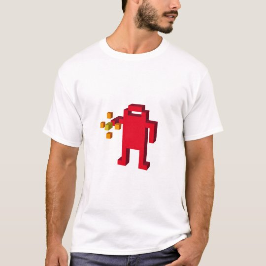 T-shirt berzerk-robot-shooting