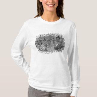 T-shirt Bétail dans un corral de maïs du Kansas