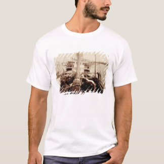 "T-shirt Bétail d'expédition sur ""W.G. Hall"", Hawaï, 1890s"