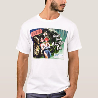 """T-shirt """"Bête tee - shirt de caverne hantée"""""""