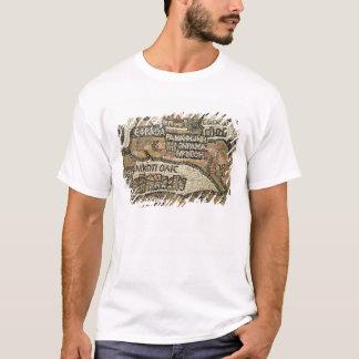 T-shirt Bethlehem, détail d'une carte de Jéricho