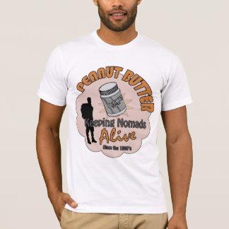 T-shirt Beurre d'arachide - maintenant des nomades vivants