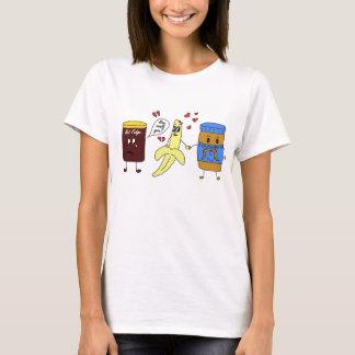 T-shirt beurre de banane et d'arachide