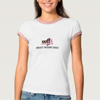 T-shirt bff, coup d'amis de sein