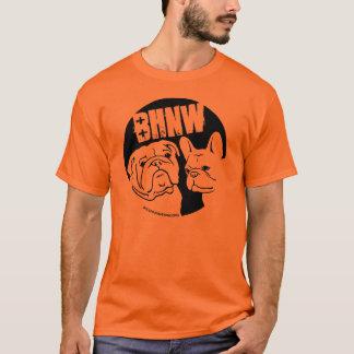 T-shirt BHNW conception de bouledogue anglais et français