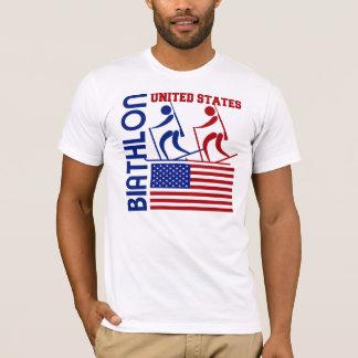 T-shirt Biathlon Etats-Unis
