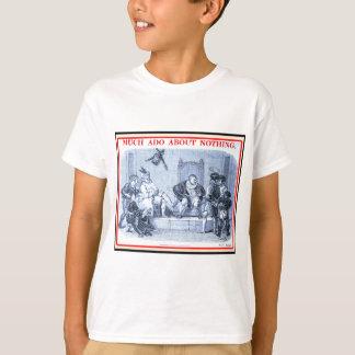 T-shirt Bibliomania : Shakespeare - beaucoup d'agitation