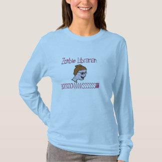 T-shirt Bibliothécaire de zombi
