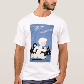 T-shirt Bibliothèque petite de Willie Winkie WPA 1940