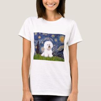 T-shirt Bichon 1 - Nuit étoilée