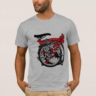 T-shirt Bicyclette de Brompton pliée