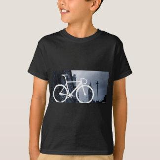 T-shirt Bicyclette de voie de Londres