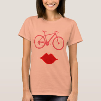 T-shirt bicyclette. vélo/recyclage gentil