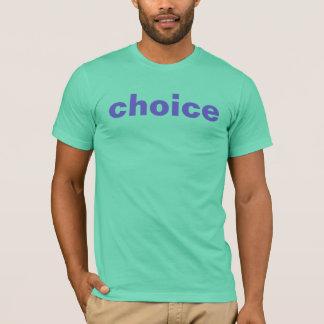 T-shirt bien choisi