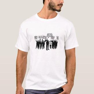 T-shirt Bientôt avant et dos de chemise
