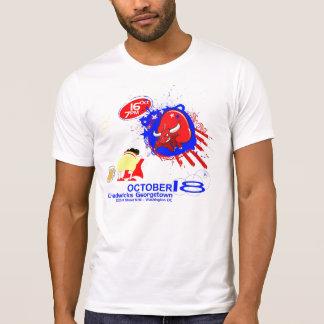 T-shirt bienvenu de partie