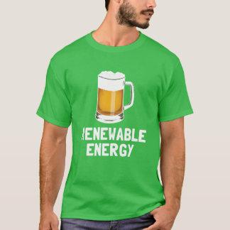 T-shirt Bière de l'énergie renouvelable de St Patrick