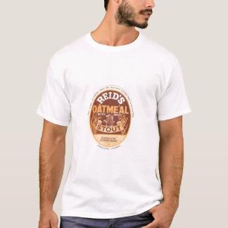 T-shirt Bière de malt de farine d'avoine de Reids