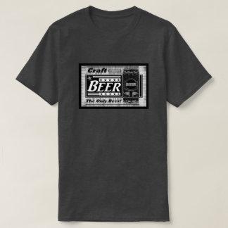 T-shirt Bière de métier la seule bière