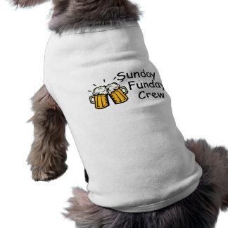 T-shirt Bière d'équipage de dimanche Funday