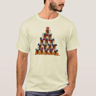 T-shirt Bière et pommes chips