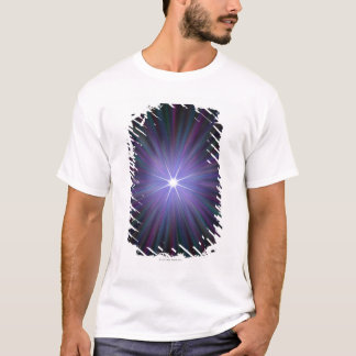 T-shirt Big Bang, illustration conceptuelle d'ordinateur