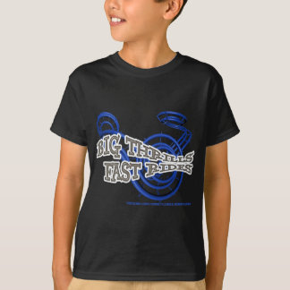 T-shirt Big thrills , Fast rides Bleu RJC01WS.png