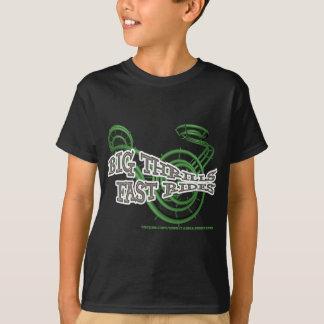 T-shirt Big thrills , Fast rides Green RJC01WS.png