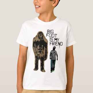 T-shirt Bigfoot est mon ami