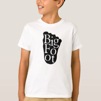 T-shirt Bigfoot ! Grand yeti de pied de Sasquatch