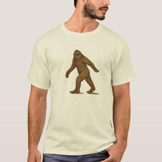 T-shirt Bigfoot sur la chemise de mouvement