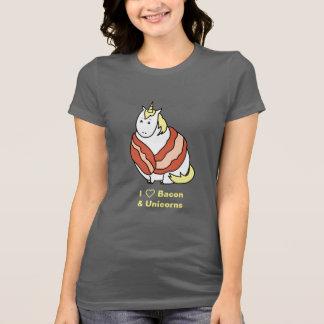 T-shirt Bijorn le lard potelé d'amour de la licorne I